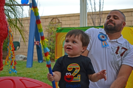03.02.13 Greyson's 2nd Birthday Party (74)